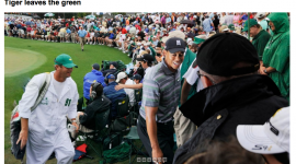 Tiger Woods at Augusta National